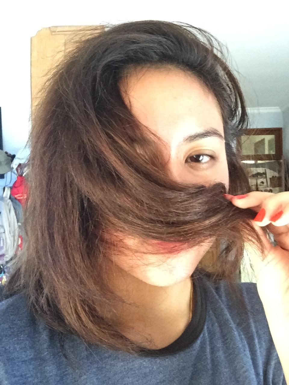 Perawatan Rambut Kering Yang Diwarnai Alami Aiko